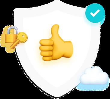 Einfach und Sicher, um Messenger App von Chatwerk zu chatten