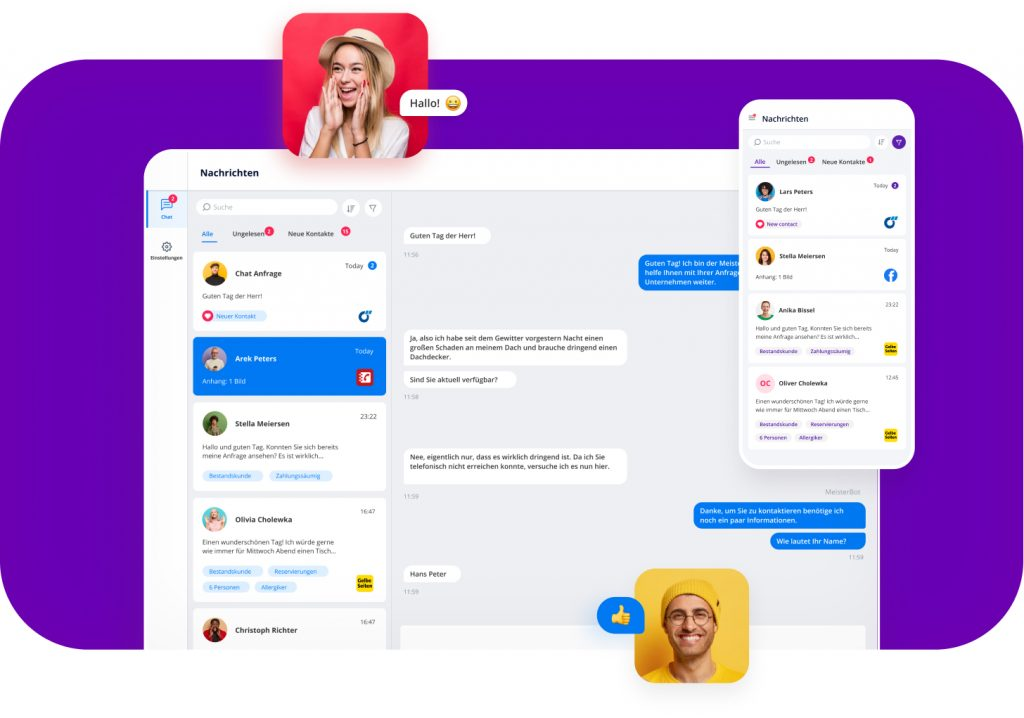 ChatWerk Messenger App übersicht