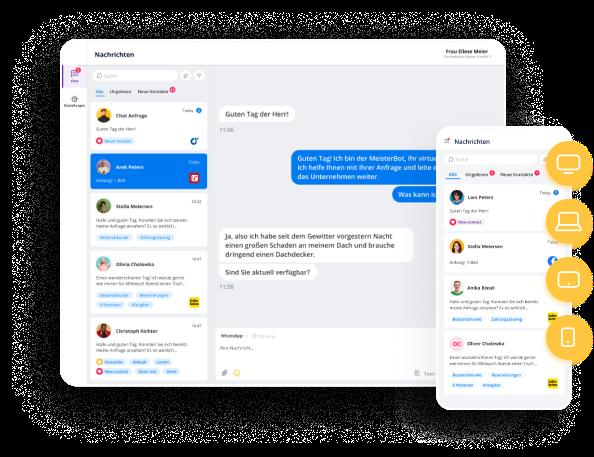 Whatsapp Website Einbinden: ChatWerk free webchat